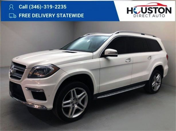 Used 2015 Mercedes-Benz GL-Class for sale in Houston TX.  We Finance!