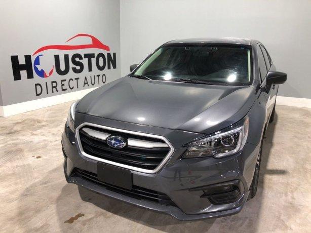 Used 2019 Subaru Legacy for sale in Houston TX.  We Finance!