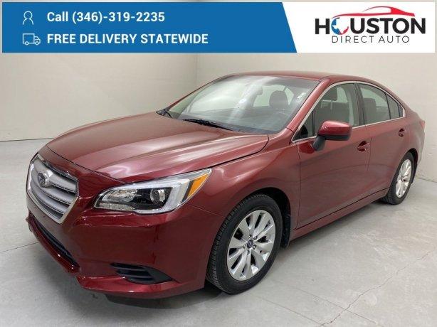 Used 2016 Subaru Legacy for sale in Houston TX.  We Finance!