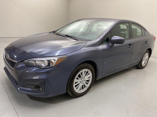 Used 2017 Subaru Impreza for sale in Houston TX.  We Finance!