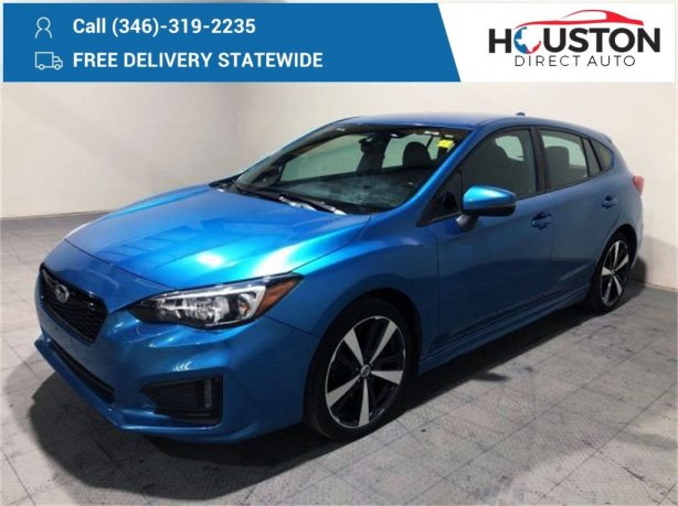 Used 2018 Subaru Impreza for sale in Houston TX.  We Finance!