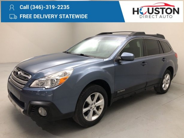 Used 2014 Subaru Outback for sale in Houston TX.  We Finance!