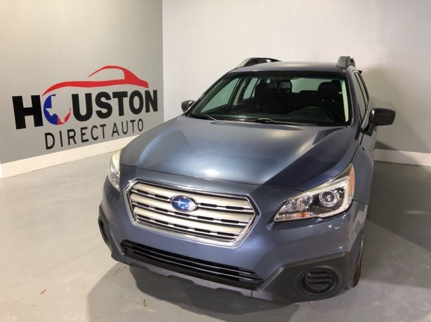 Used 2015 Subaru Outback for sale in Houston TX.  We Finance!