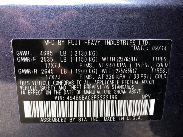Subaru Outback 2015 for sale