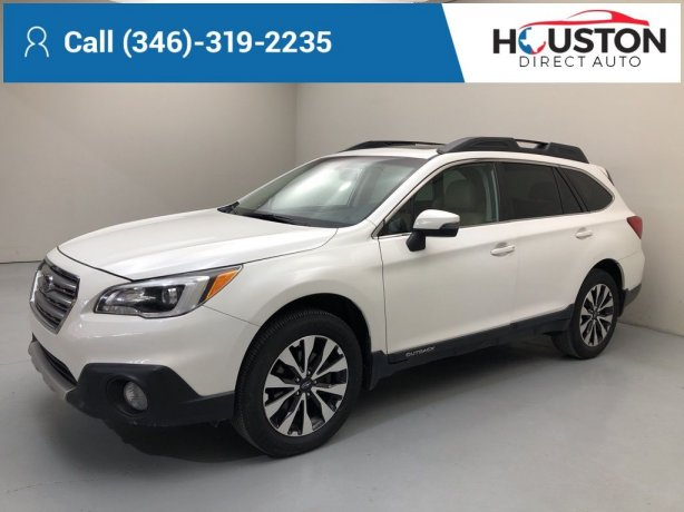 Used 2016 Subaru Outback for sale in Houston TX.  We Finance!