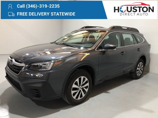 Used 2020 Subaru Outback for sale in Houston TX.  We Finance!