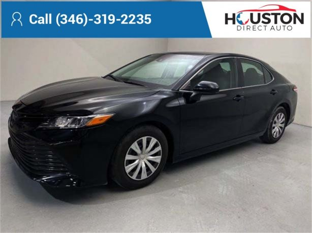 Used 2019 Toyota Camry for sale in Houston TX.  We Finance!