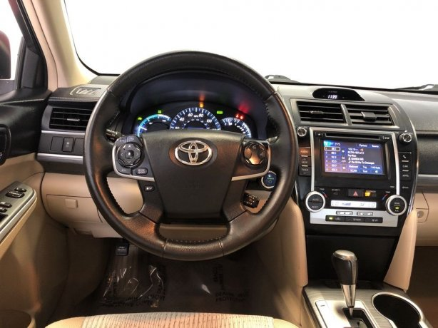 used 2012 Toyota Camry Hybrid for sale Houston TX