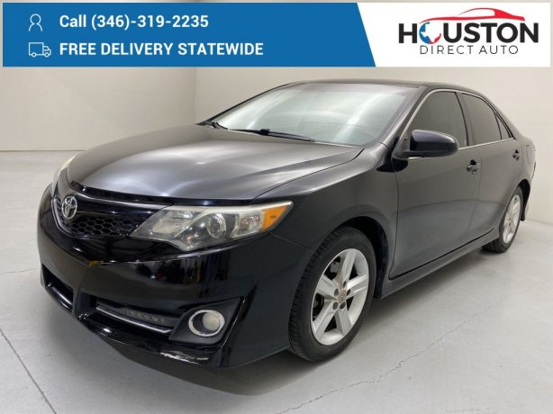 Used 2013 Toyota Camry for sale in Houston TX.  We Finance!