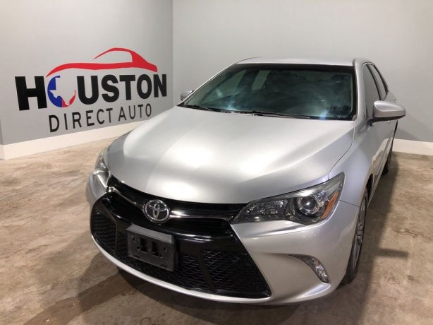 Used 2015 Toyota Camry for sale in Houston TX.  We Finance!