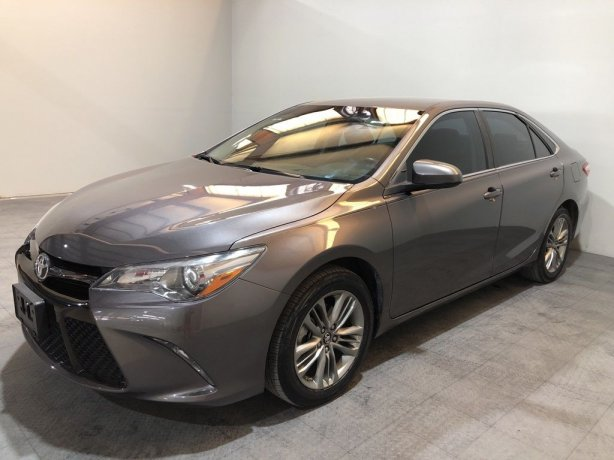 Used 2017 Toyota Camry for sale in Houston TX.  We Finance!