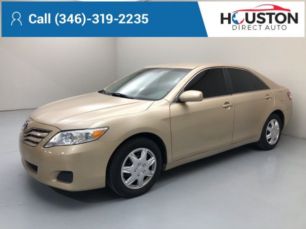 Used 2010 Toyota Camry for sale in Houston TX.  We Finance!