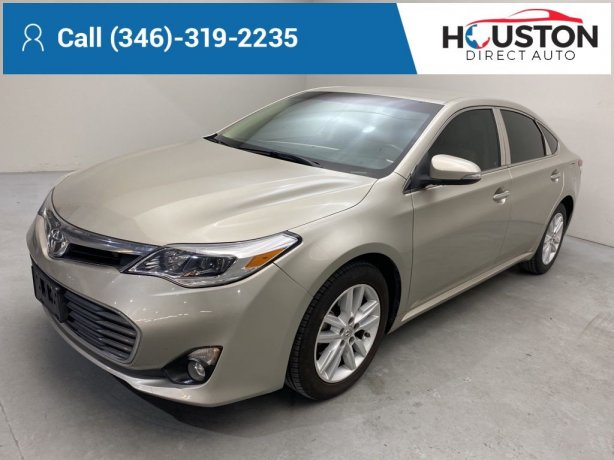 Used 2014 Toyota Avalon for sale in Houston TX.  We Finance!