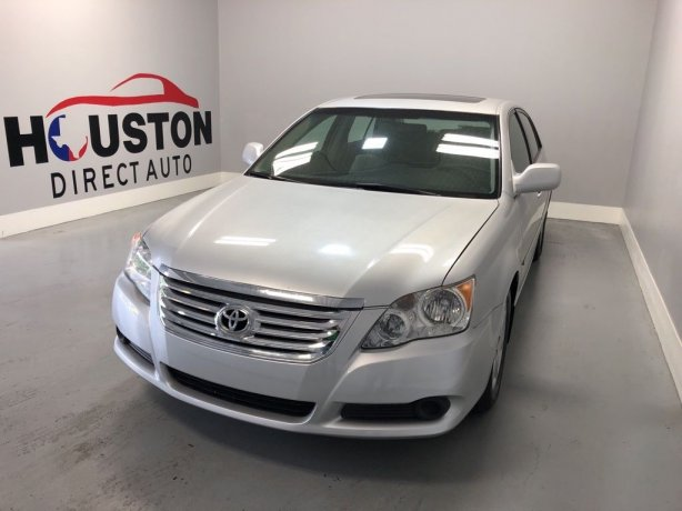 Used 2010 Toyota Avalon for sale in Houston TX.  We Finance!