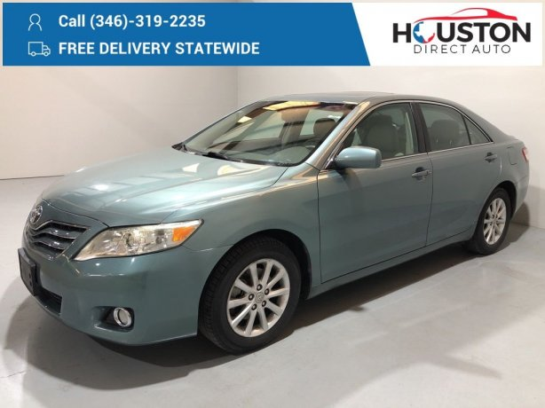 Used 2011 Toyota Camry for sale in Houston TX.  We Finance!