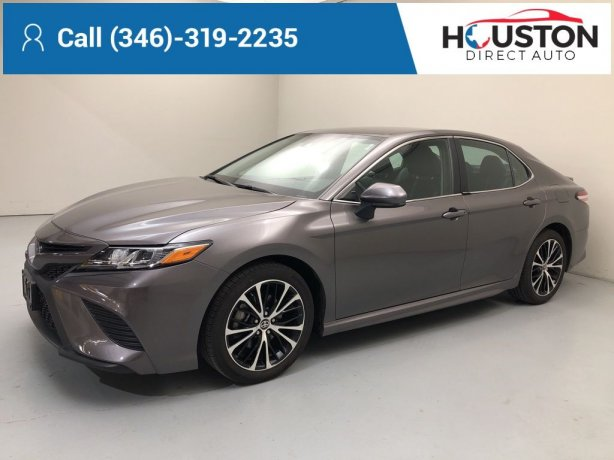 Used 2020 Toyota Camry for sale in Houston TX.  We Finance!