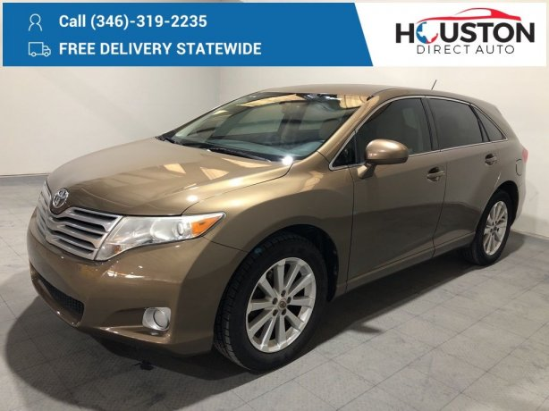 Used 2009 Toyota Venza for sale in Houston TX.  We Finance!