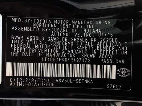 Toyota Camry cheap for sale near me