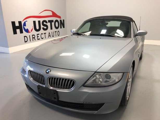 Used 2006 BMW Z4 for sale in Houston TX.  We Finance!