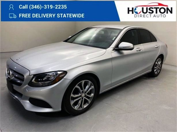 Used 2015 Mercedes-Benz C-Class for sale in Houston TX.  We Finance!