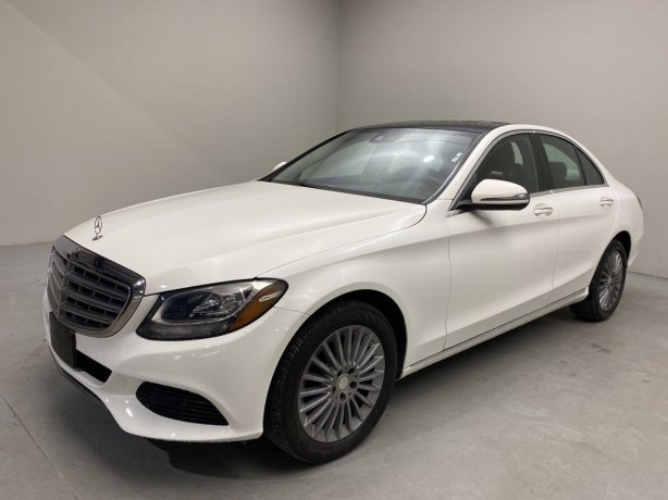 Used 2016 Mercedes-Benz C-Class for sale in Houston TX.  We Finance!