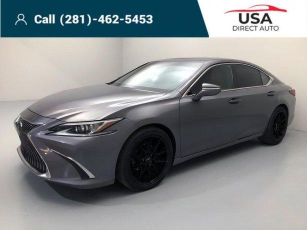 Used 2019 Lexus ES for sale in Houston TX.  We Finance!