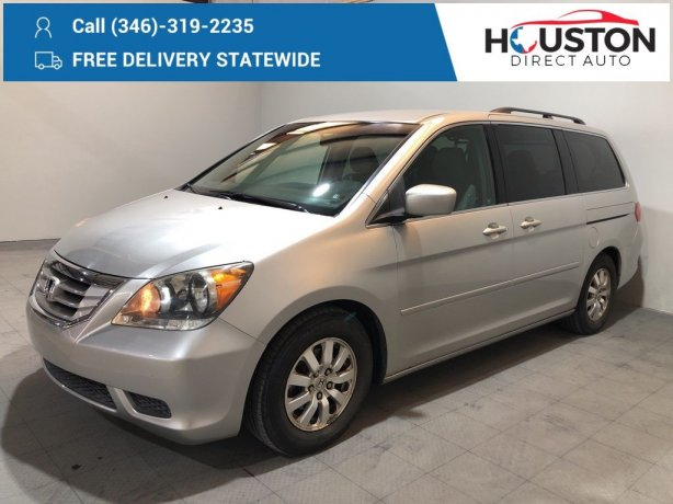 Used 2009 Honda Odyssey for sale in Houston TX.  We Finance!