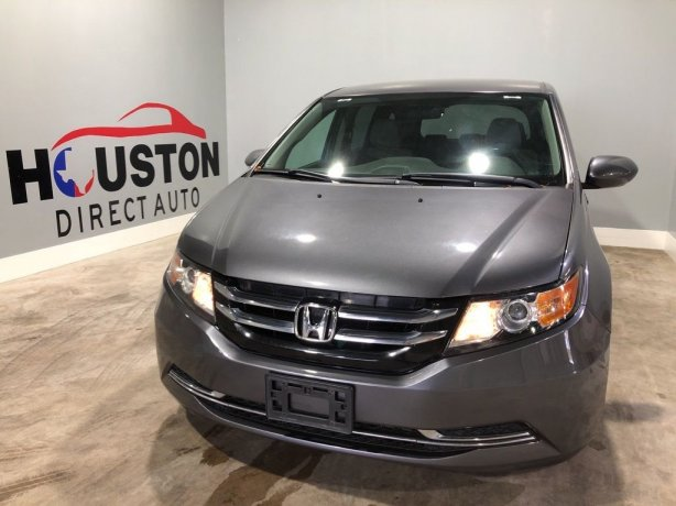 Used 2014 Honda Odyssey for sale in Houston TX.  We Finance!