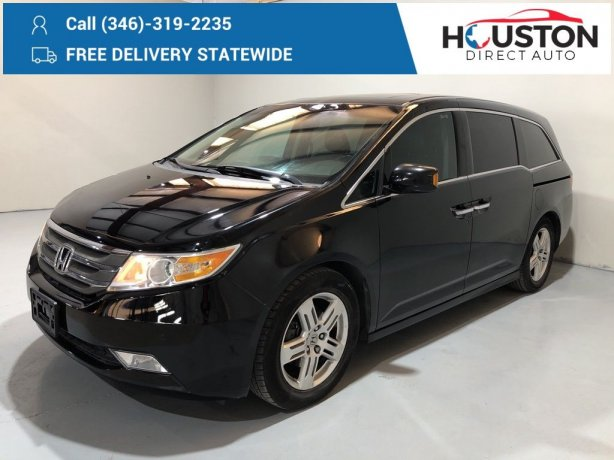 Used 2011 Honda Odyssey for sale in Houston TX.  We Finance!