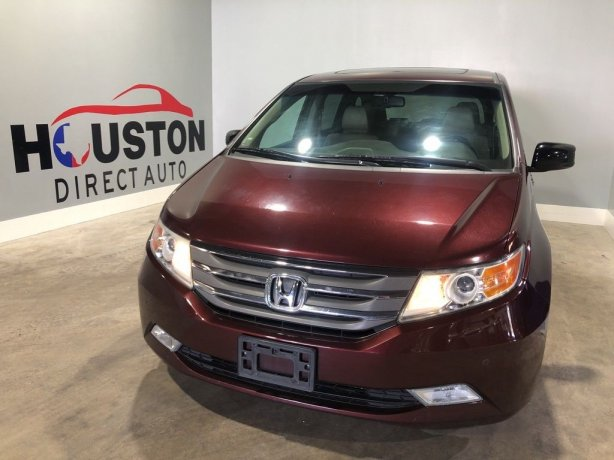 Used 2012 Honda Odyssey for sale in Houston TX.  We Finance!