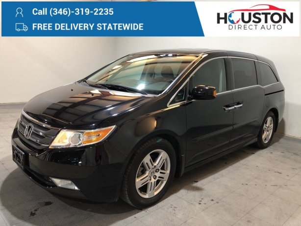 Used 2013 Honda Odyssey for sale in Houston TX.  We Finance!