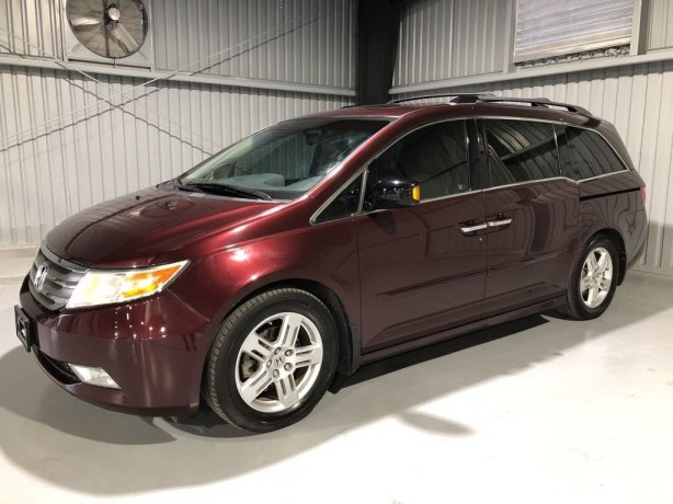 Used Honda Odyssey for sale in Houston TX.  We Finance!