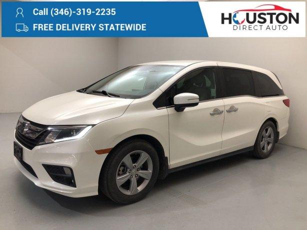Used 2018 Honda Odyssey for sale in Houston TX.  We Finance!