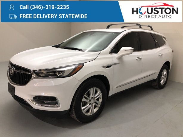 Used 2019 Buick Enclave for sale in Houston TX.  We Finance!