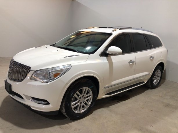 Used 2015 Buick Enclave for sale in Houston TX.  We Finance!