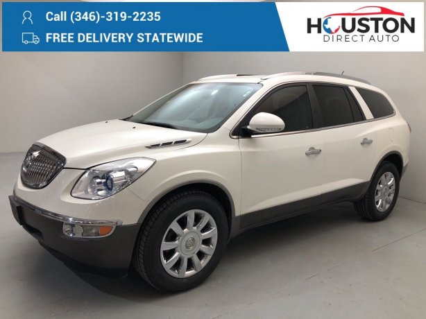 Used 2011 Buick Enclave for sale in Houston TX.  We Finance!
