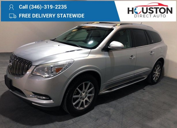 Used 2014 Buick Enclave for sale in Houston TX.  We Finance!