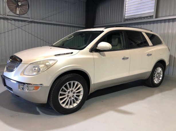 Used Buick Enclave for sale in Houston TX.  We Finance!