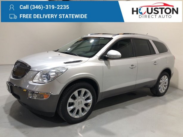Used 2012 Buick Enclave for sale in Houston TX.  We Finance!