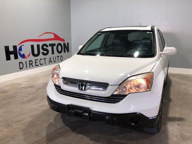 Used 2008 Honda CR-V for sale in Houston TX.  We Finance!