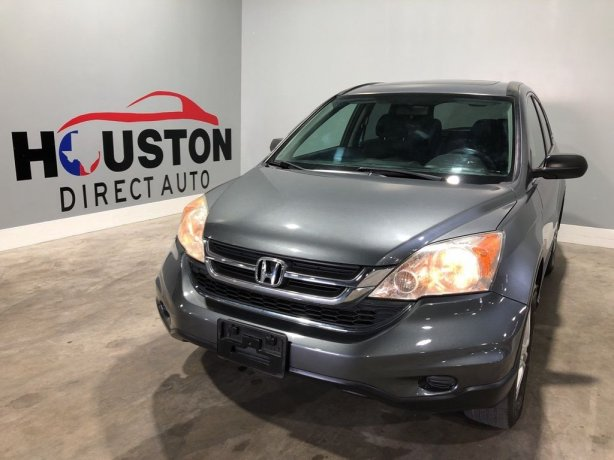 Used 2010 Honda CR-V for sale in Houston TX.  We Finance!