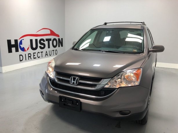 Used 2011 Honda CR-V for sale in Houston TX.  We Finance!