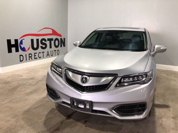 Used 2017 Acura RDX for sale in Houston TX.  We Finance!