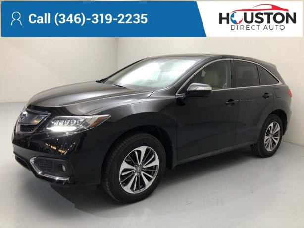 Used 2018 Acura RDX for sale in Houston TX.  We Finance!