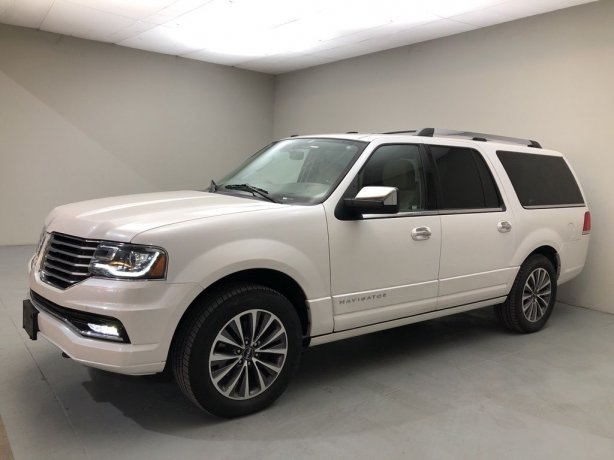 Used 2017 Lincoln Navigator for sale in Houston TX.  We Finance!