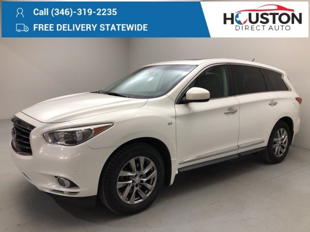 Used 2014 INFINITI QX60 for sale in Houston TX.  We Finance!