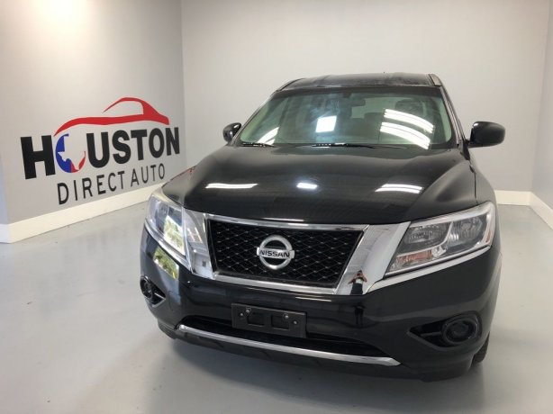 Used 2014 Nissan Pathfinder for sale in Houston TX.  We Finance!