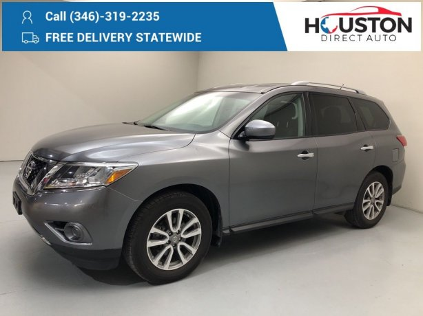 Used 2016 Nissan Pathfinder for sale in Houston TX.  We Finance!