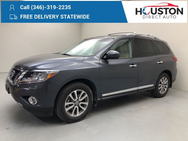 Used 2013 Nissan Pathfinder for sale in Houston TX.  We Finance!