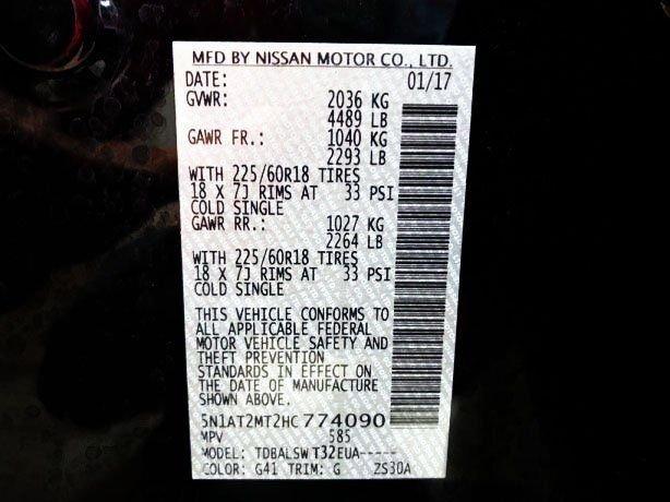Nissan Rogue cheap for sale near me